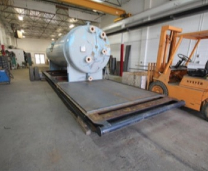 6' x 20' 50psi NATCO HORIZONTAL TREATER CES-412-P