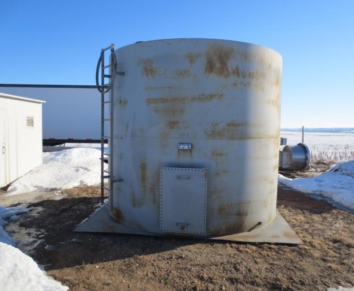 177 BBL Dual Wall Storage Tank