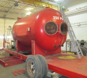 "96″ x 10'0"" 250psi 3 Phase Separator CES-575"
